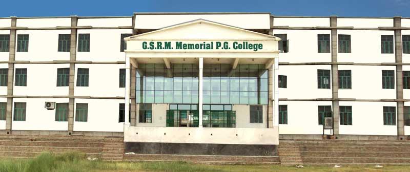 GSRM Memorial PG College