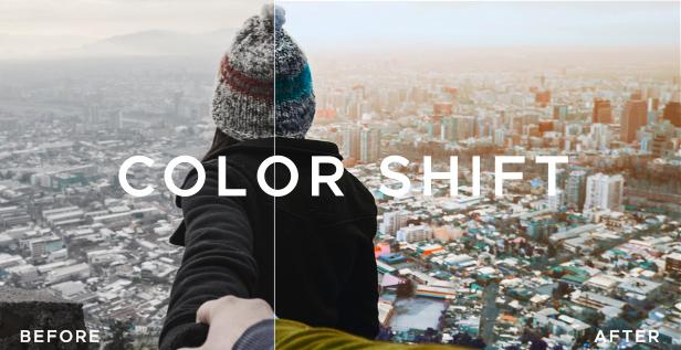 LUTs Color Presets for DaVinci Resolve - 11