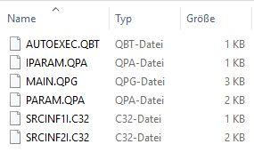 Files auf SD-Card
