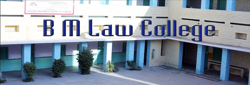 B. M. Law College