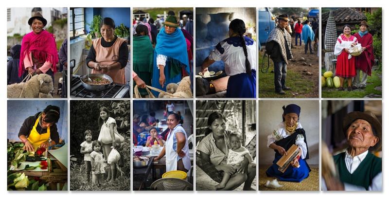 Portraits d'Équatoriens