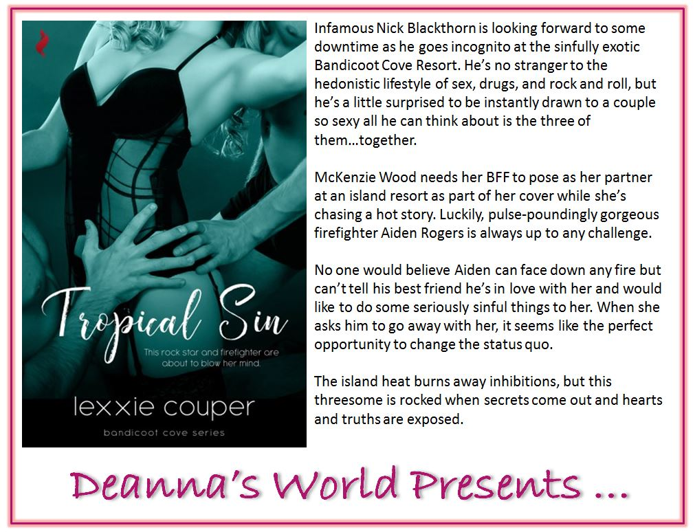 Tropical Sin by Lexxie Couper blurb