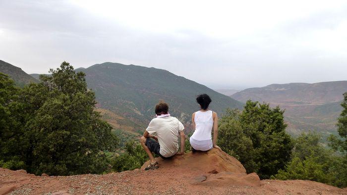 Atlasgebirge Marokko Landschaft