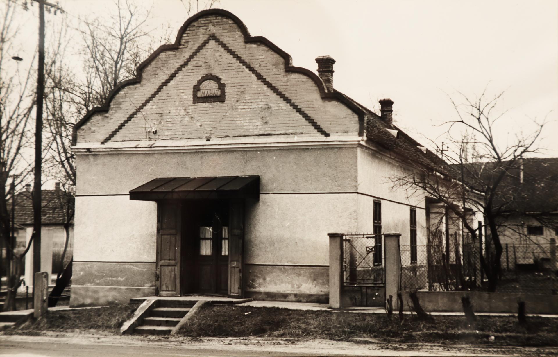 A szalkszentmártoni baptista imaház