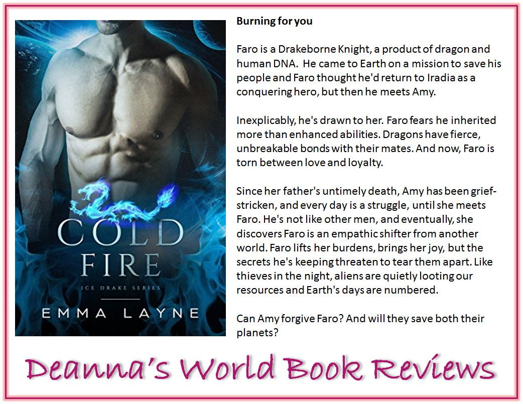 Cold Fire by Emma Layne blurb