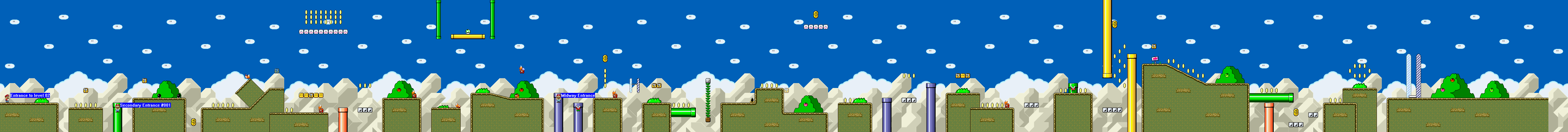 Super Mario: The ultimate adventure (WIP) Level002