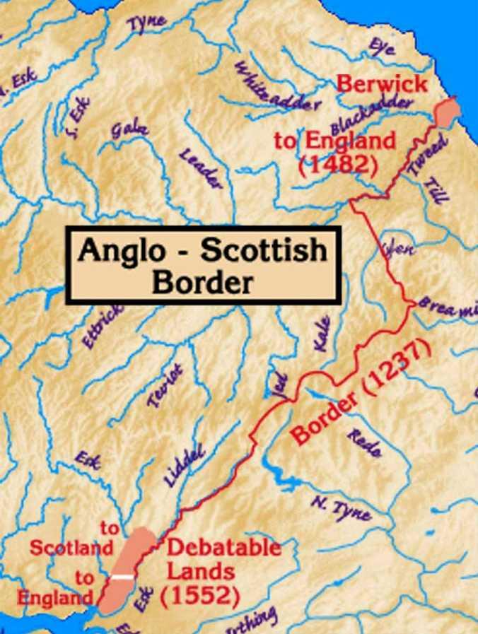Англо-шотландская граница