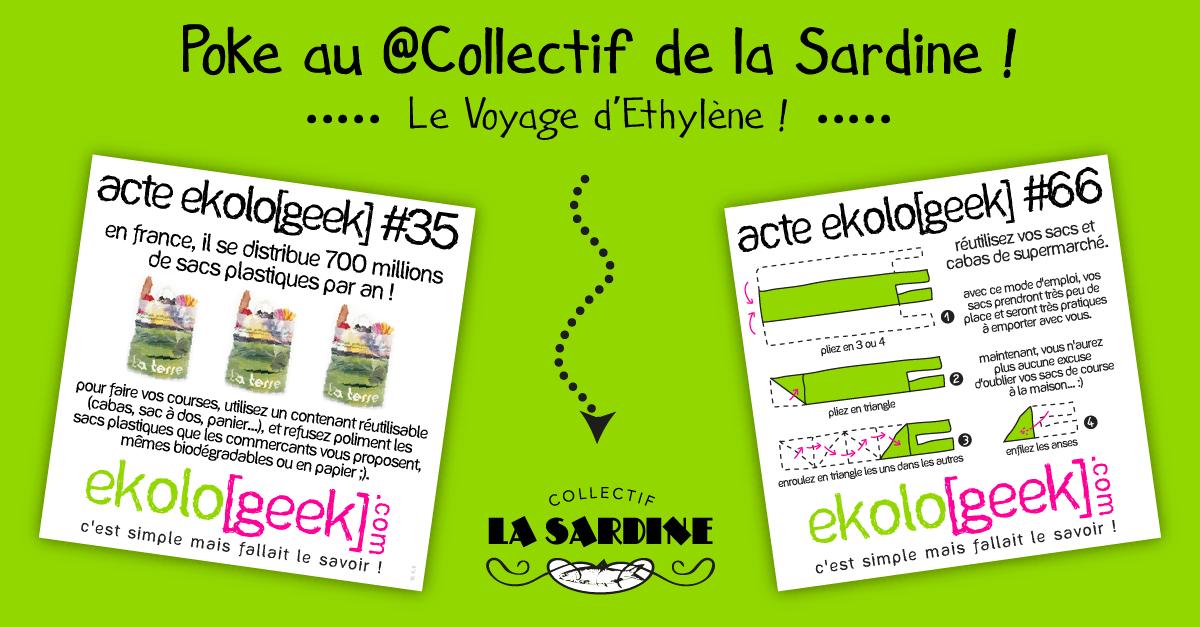Poke au #Collectif de la Sardine !Le Voyage d'Ethylène