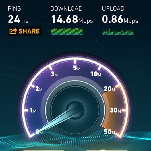 Internet speeds back to normal