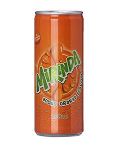 Mirinda Can 250 ml