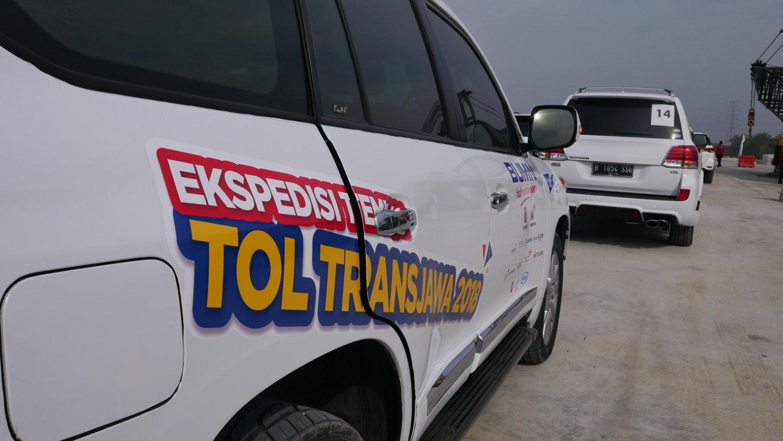 SUV Ekspedisi Tol Trans Jawa, dokpri