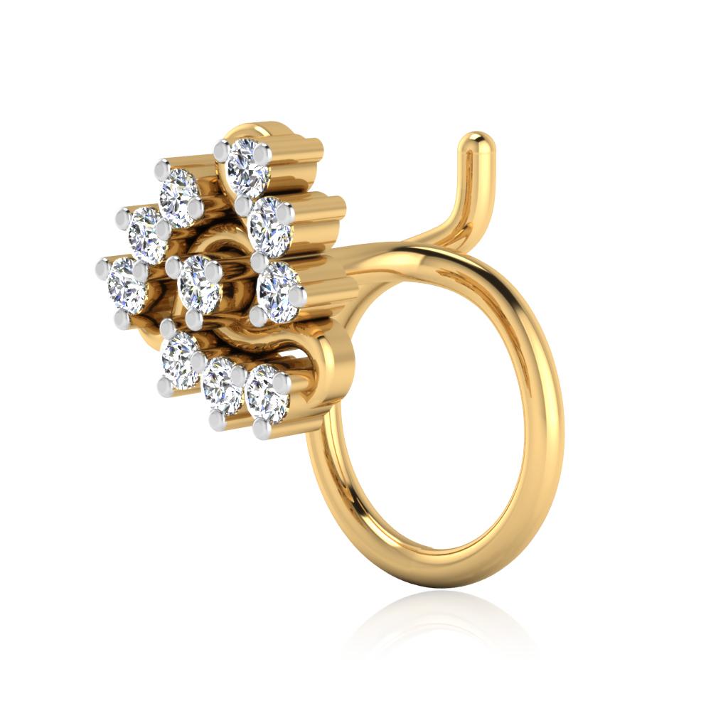The Mair Diamond Nose Pin