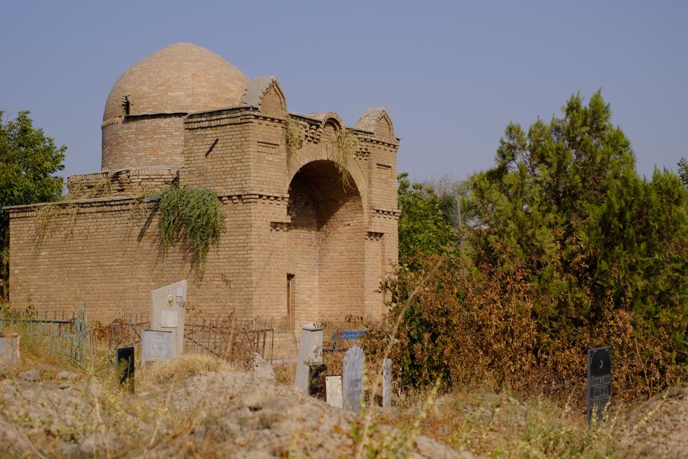 mausoleum in sayram