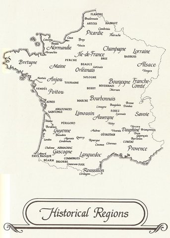 Historic Regions of France