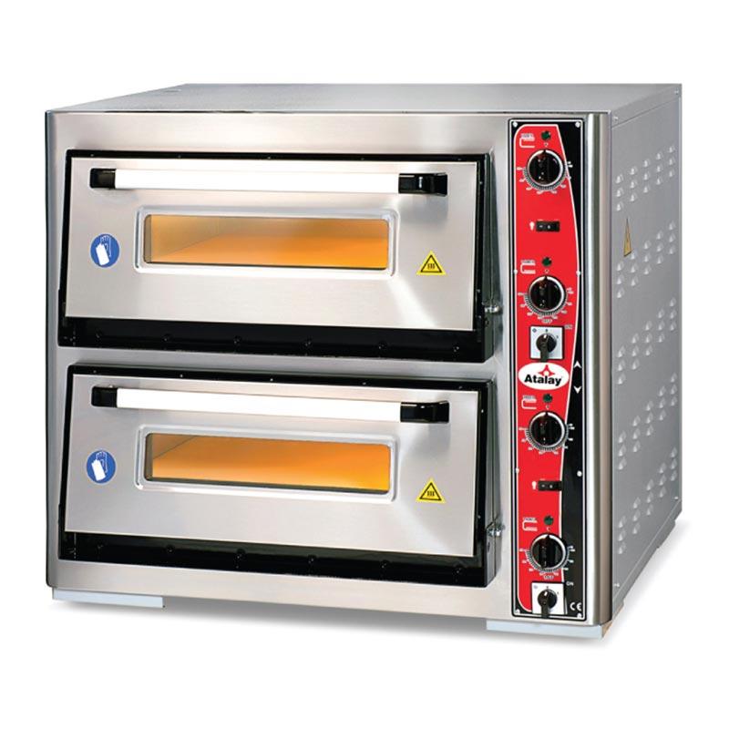 Atalay Pizza Fırını Çift Katlı 62x62 cm Elektrikli