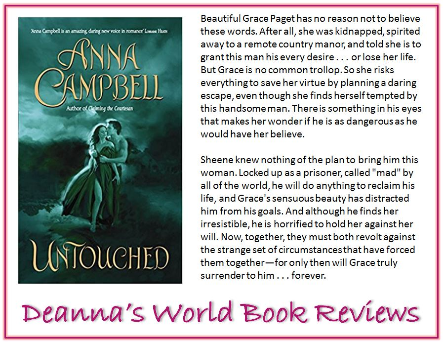 Untouched by Anna Campbell blurb