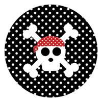 Topper de cumpleaños del pirata