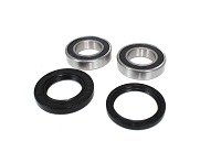Boss Bearing Front Wheel Bearings and Seals Kit Honda TRX350 1986