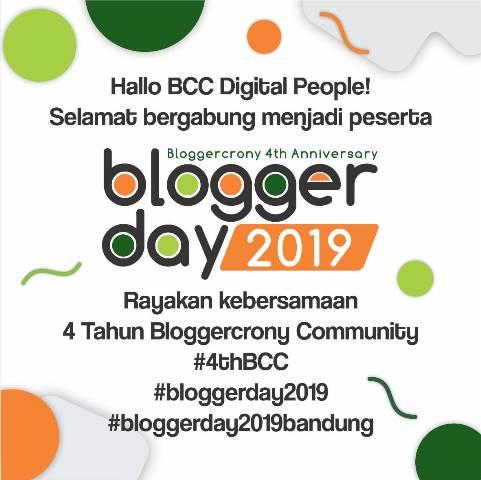 Blogger Day 2019 Blogger Crony Community di Bandung