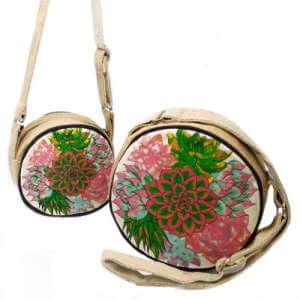 round eco bags