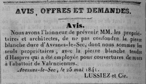 Pierre blanche - Avesnes le Sec