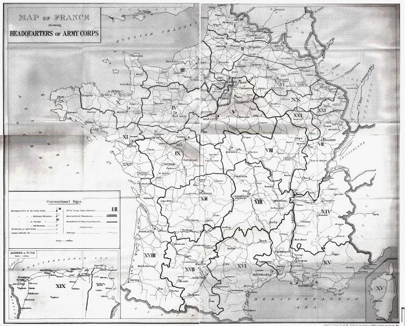 Army Corps Regions