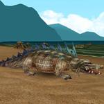 Krokodýl s trnitými šupinami