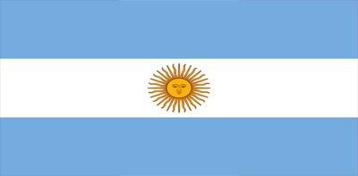 Bandera de la República de Argentina