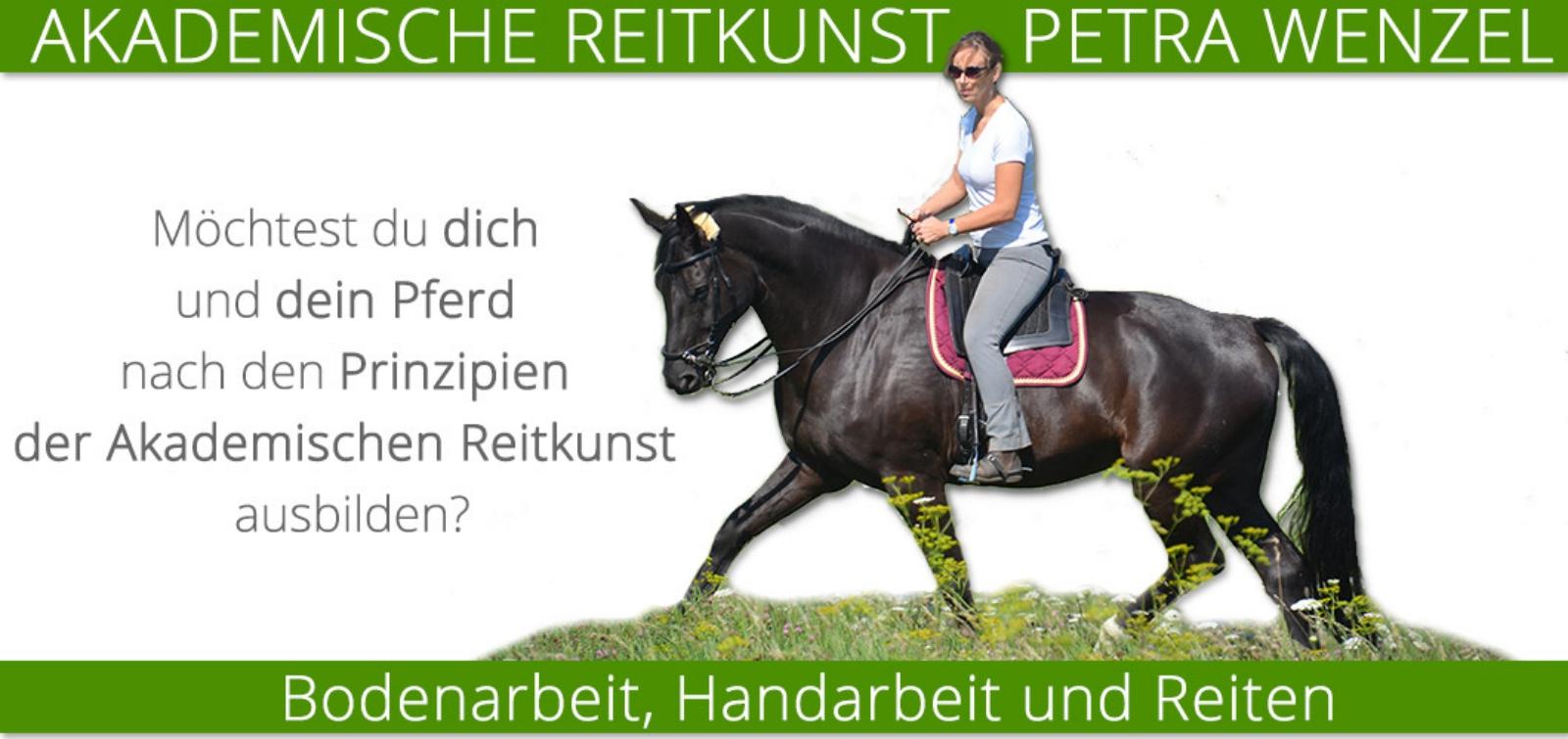 Akademische Reitkunst - Petra Wenzel