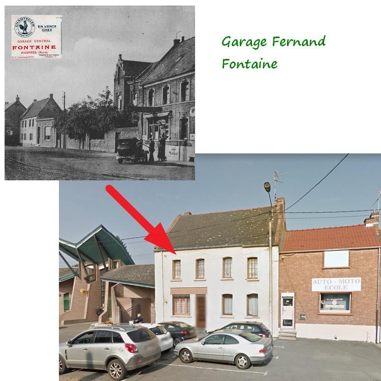 Garage Fontaine à Haspres