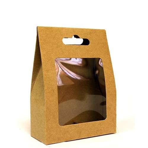 flat pack gift box - window soap size