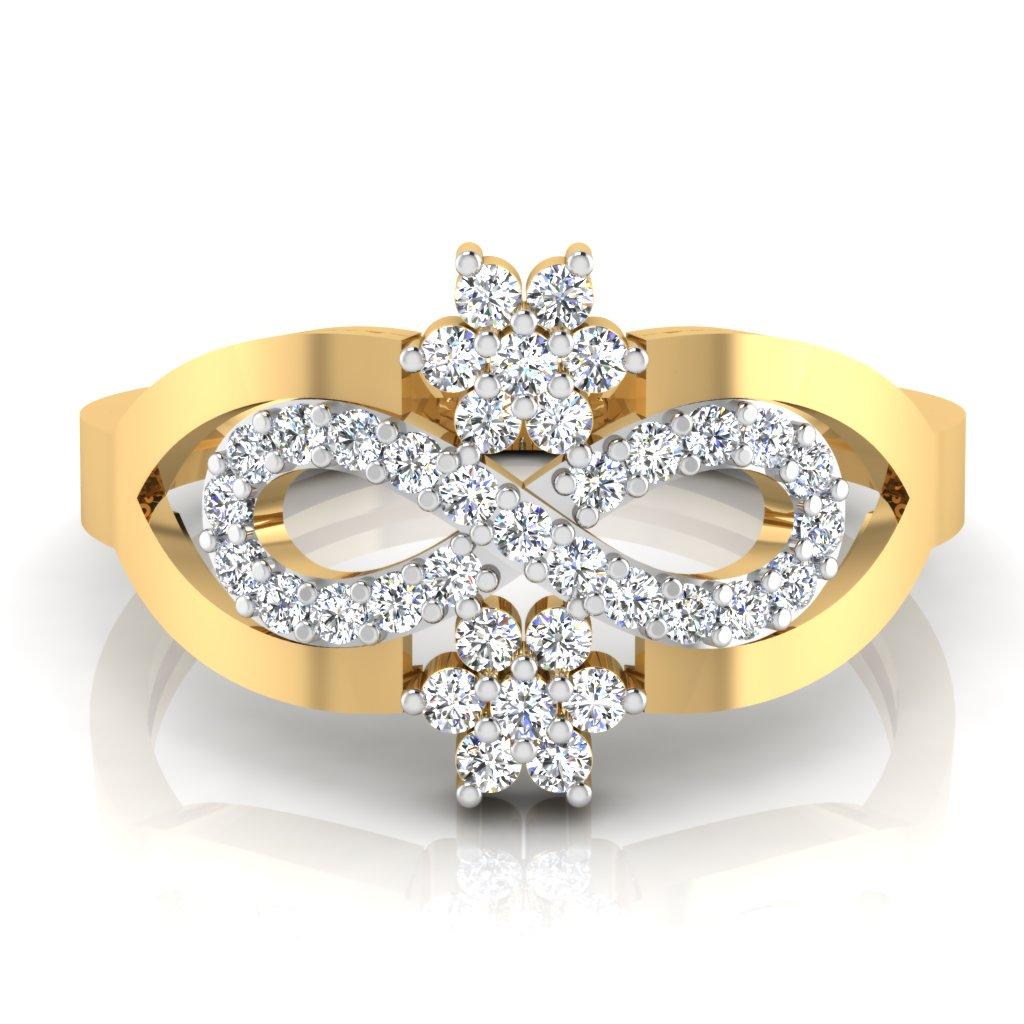 The Vivid Majestic Diamond Ring