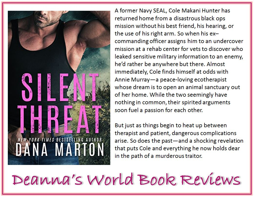 Silent Threat by Dana Marton blurb