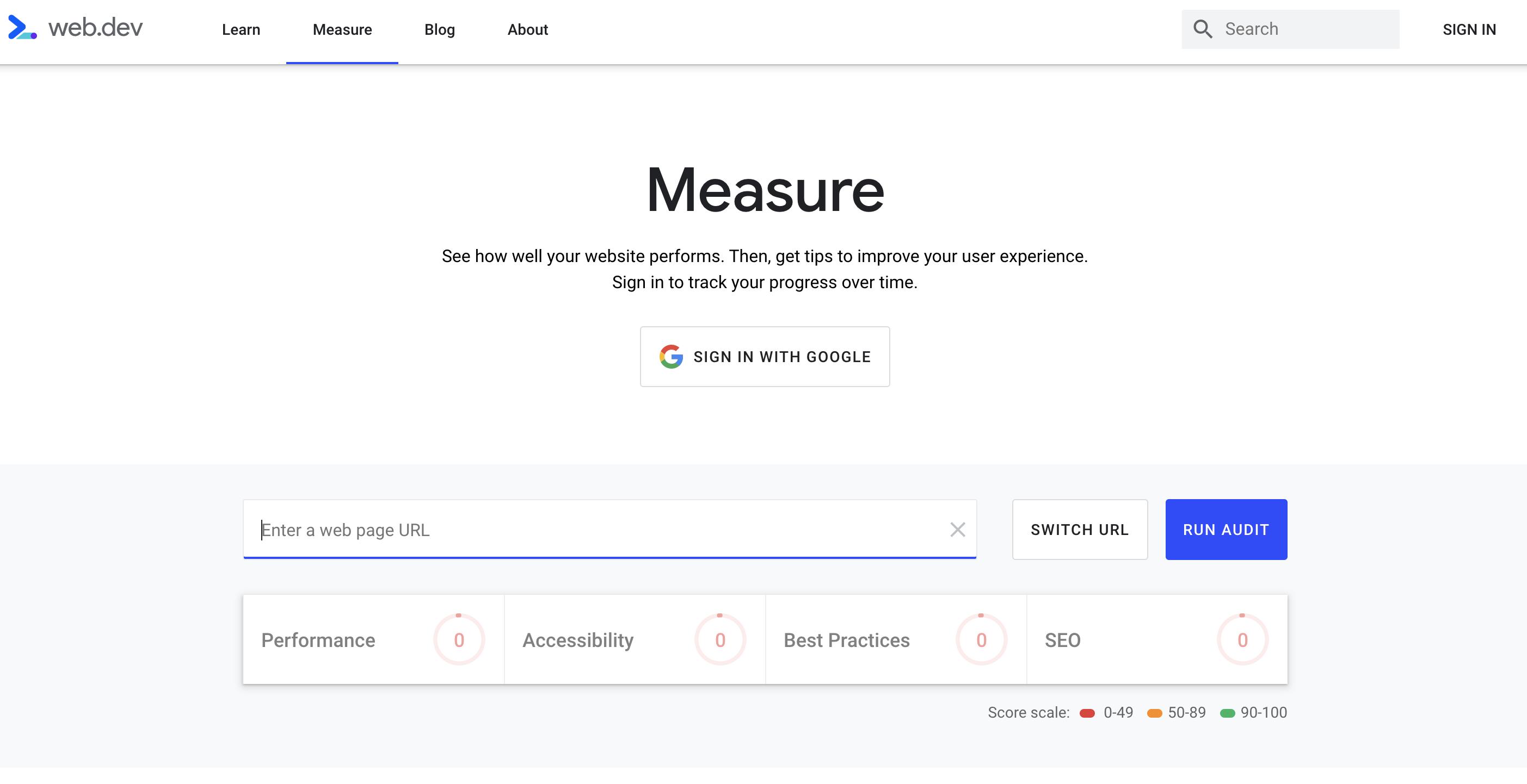 https://web.dev/measure