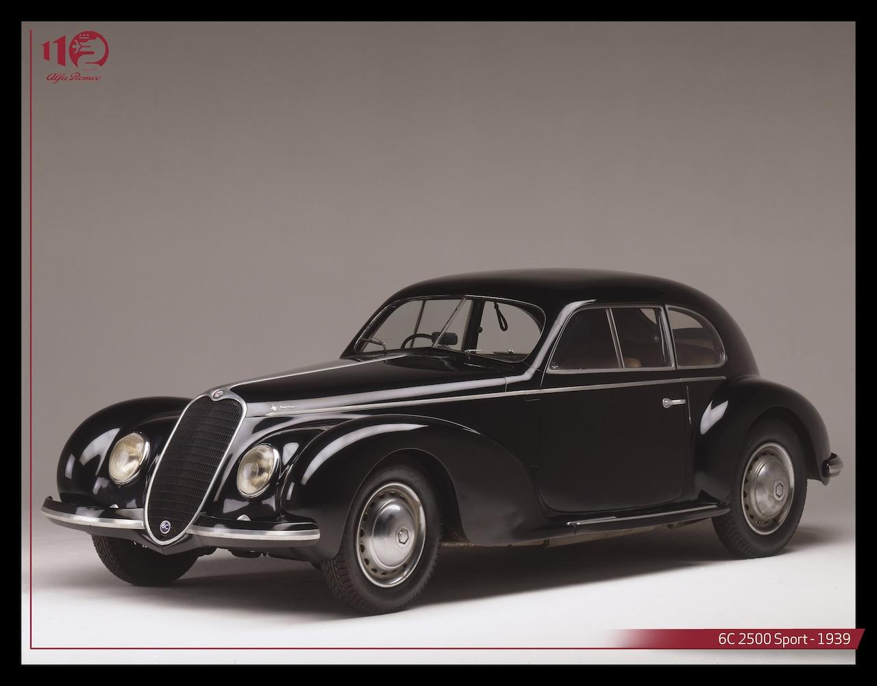 The elegance of the Alfa Romeo 6C 2500 Villa d'Este