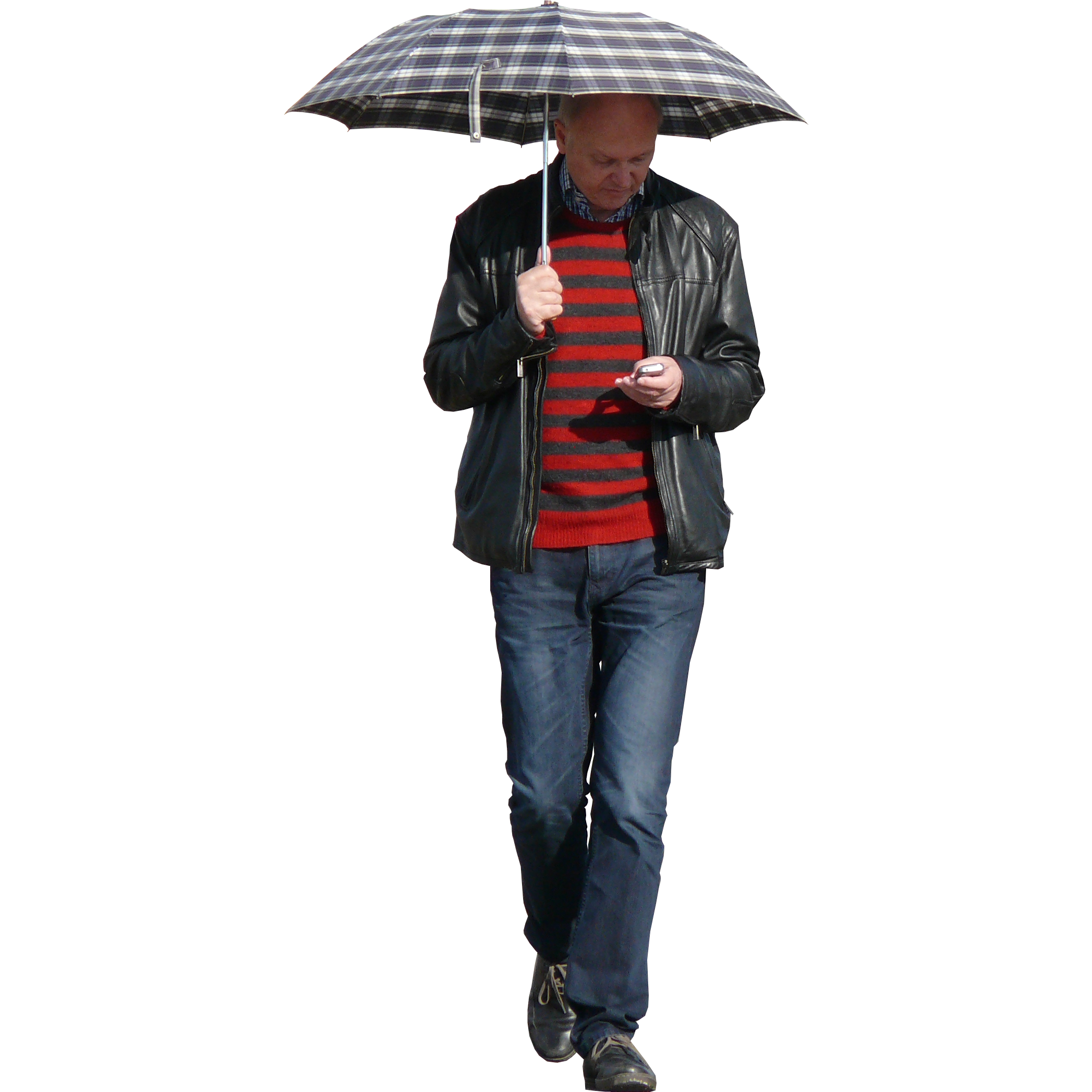 Imagenatives 0025 man with umbrella cutout
