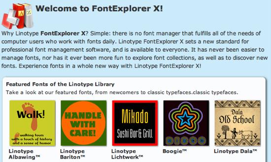 Linotype-Fontexplorer-X