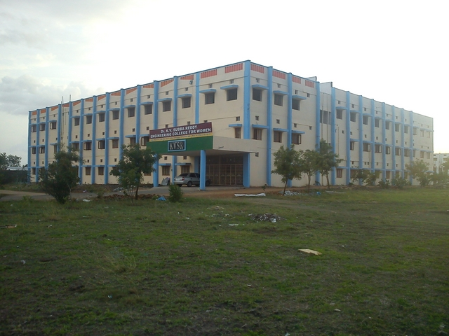 DR. K.V. SUBBA REDDY COLLEGE OF ENGINEERING FOR WOMEN, Kurnool