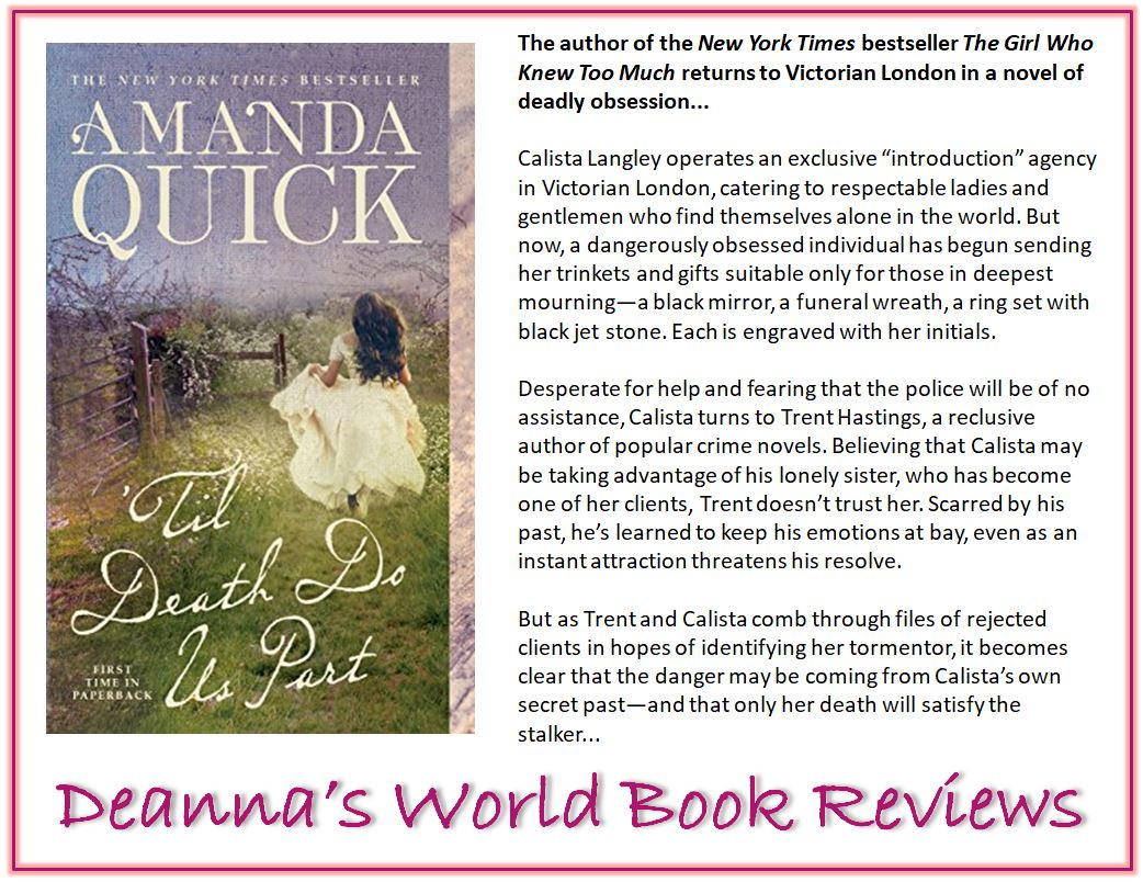 Til Death Do Us Part by Amanda Quick blurb