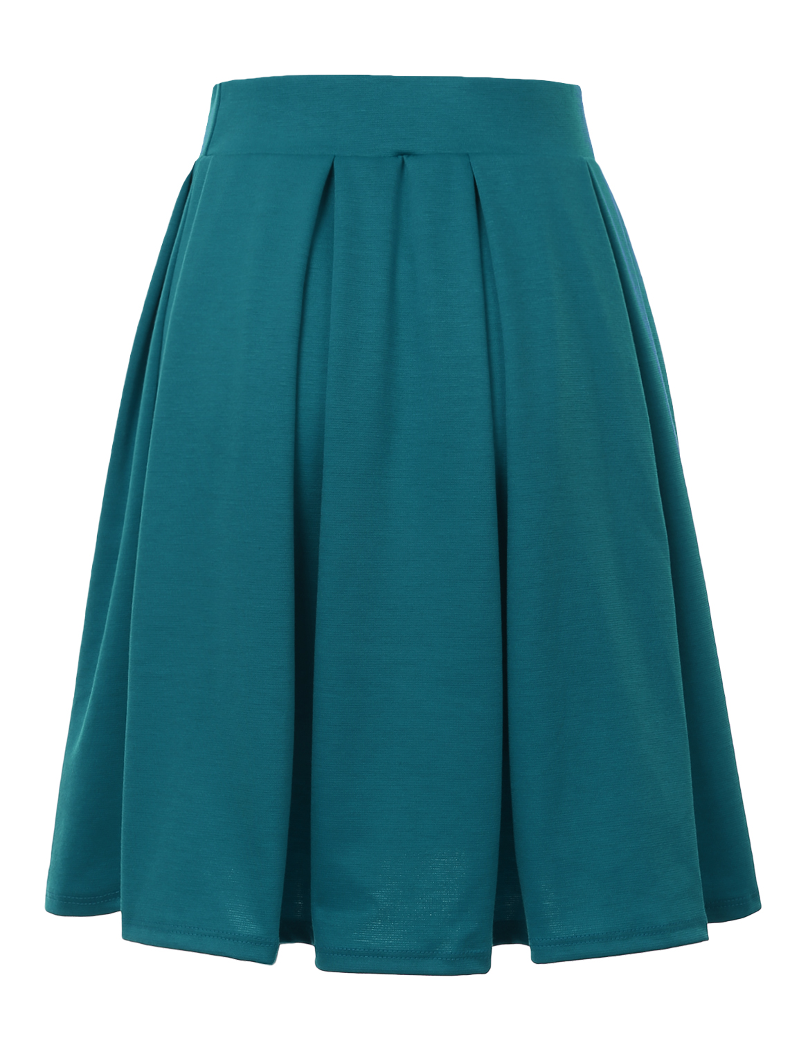 Doublju-Elastic-Waist-Flare-Pleated-Skater-Midi-Skirt-for-Women-with-Plus-Size thumbnail 39