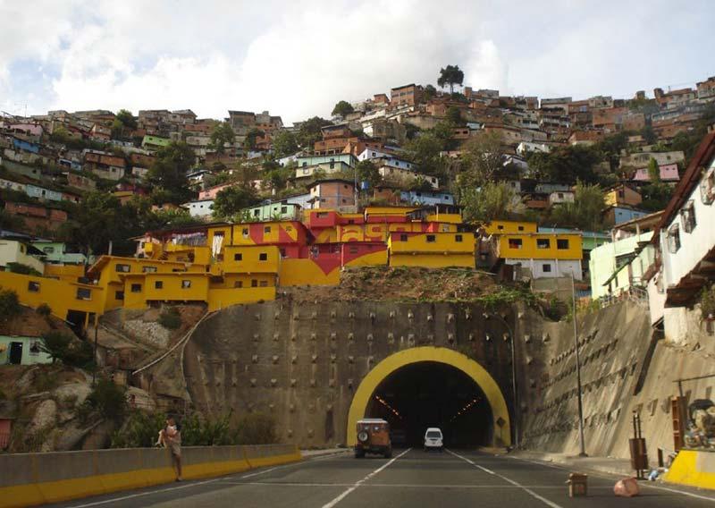 Capturing caracas' changing urban landscape