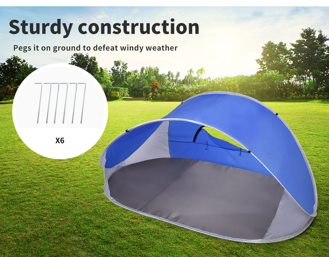 Mountvie-Pop-Up-Tent-Camping-Beach-Tents-4-Person-Portable-Hiking-Shade-Shelter thumbnail 17