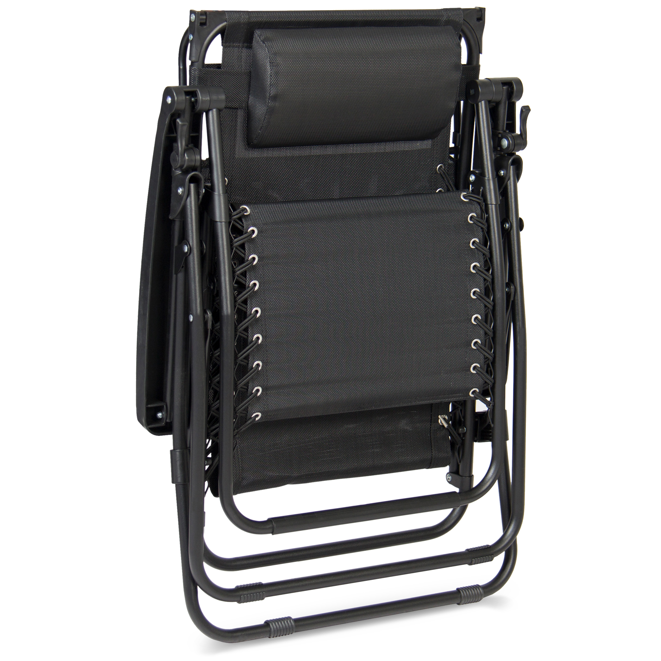 BCP-Folding-Zero-Gravity-Recliner-Lounge-Chair-w-Canopy-Cup-Holder thumbnail 20