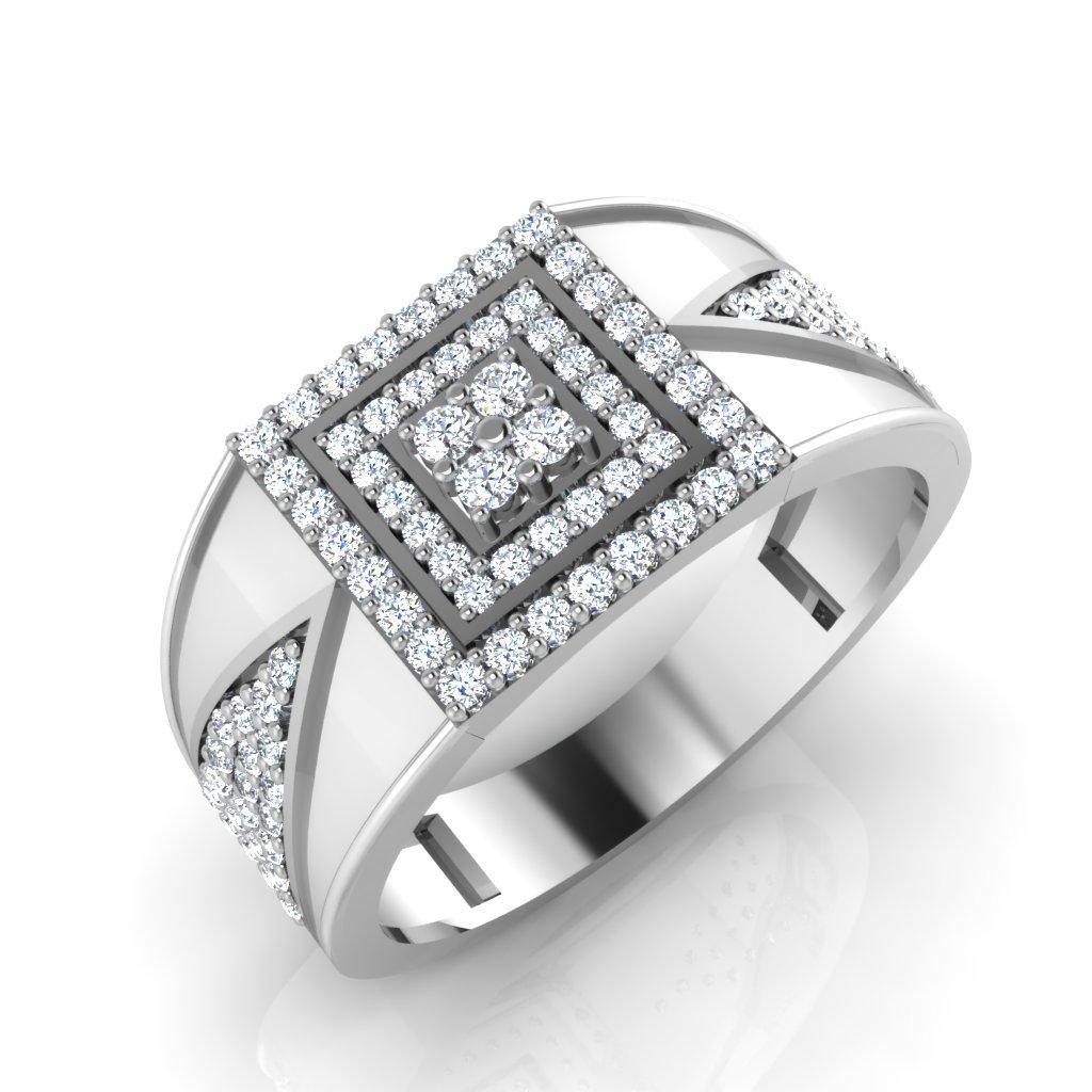 The Marque Diamond Mens Ring