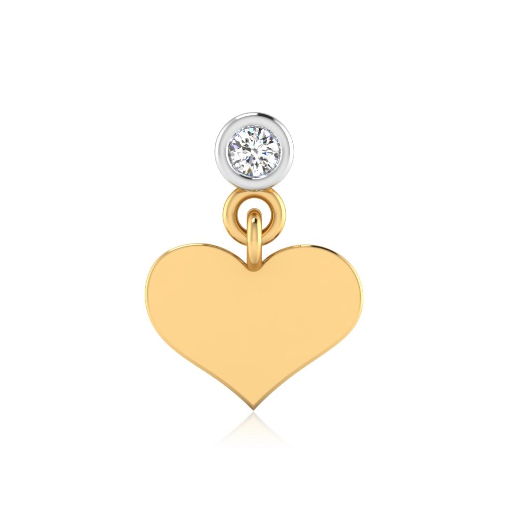 The Vaani Diamond Solitaire Nose Screw