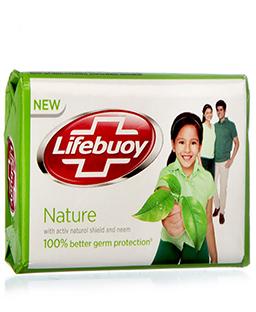 Lifebuoy Nature Soap Bar 125gms