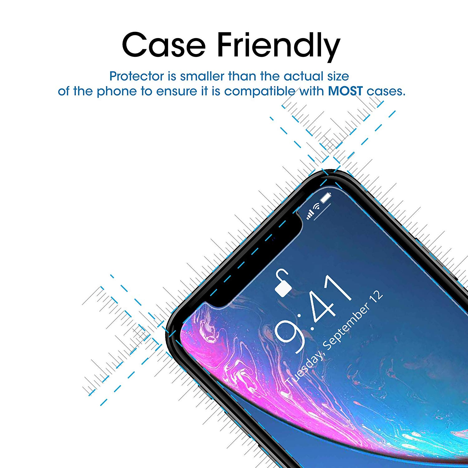 thumbnail 21 - Leather Flip Wallet Case Tempered Glass Cover For iPhone 11 Pro Max XS XR 8 7 6s