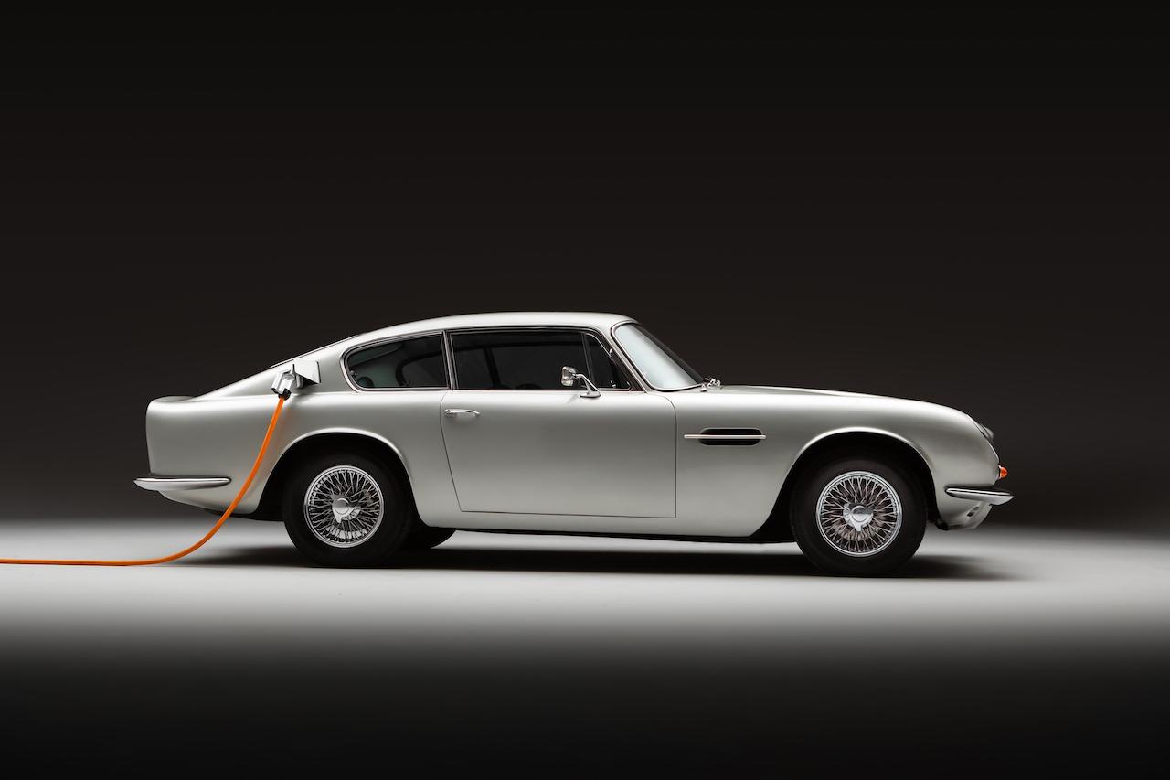 Lunaz unveils electric Aston Martin DB6