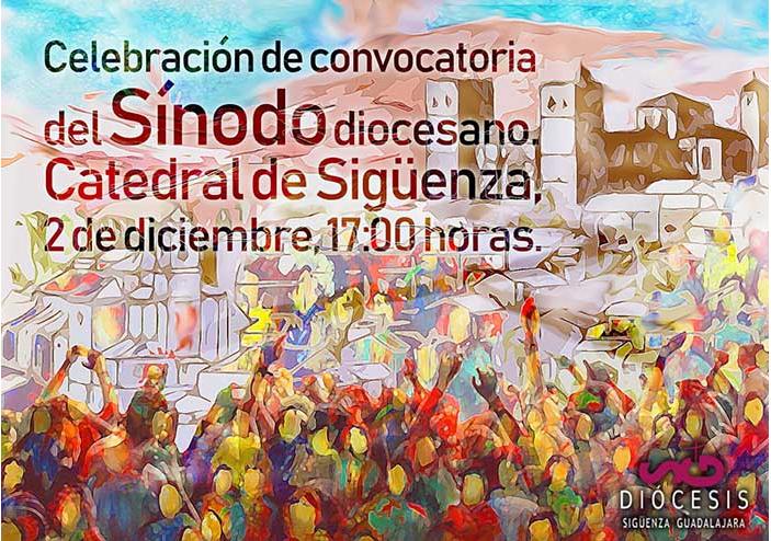 Cartel oficial del Sínodo Diocesano de la Diócesis de Sigüenza-Guadalajara