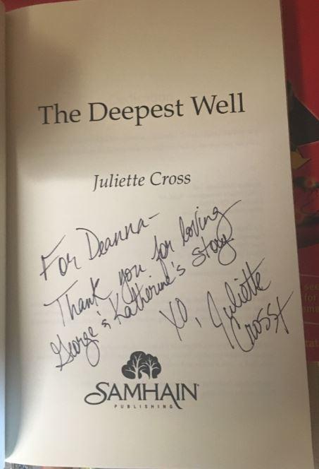 Juliette Cross signature 1
